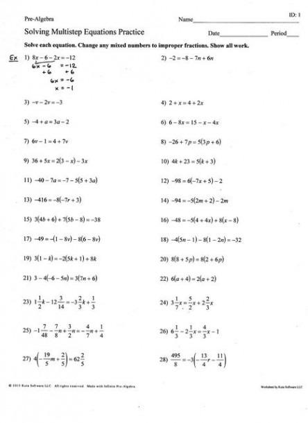 1 15 Solving Multi