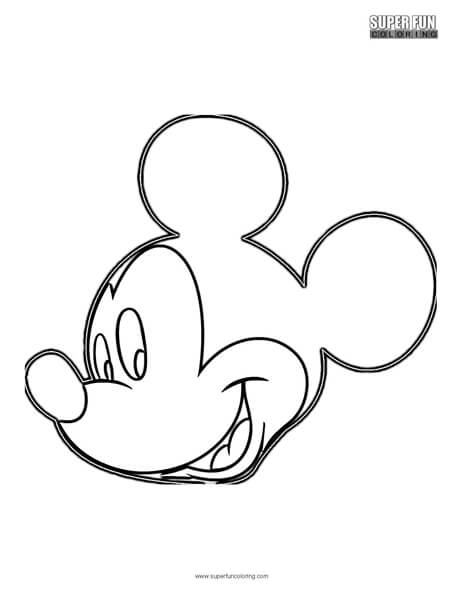 Mickey Mouse Disney Coloring Worksheets