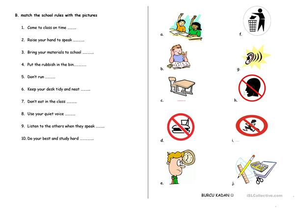 House Chores And School Rules