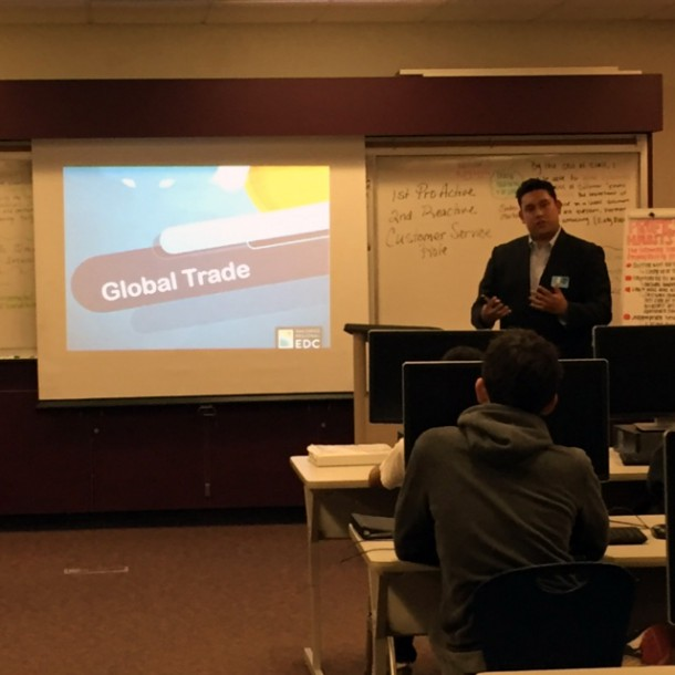San Ysidro High School Business Students Get A Lesson In Global